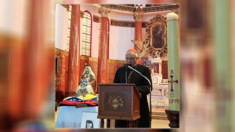 Đức Hồng y Baltazar Porras của Venezuela
