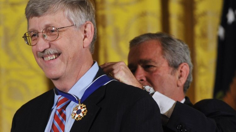 Tiến sĩ Francis S  Collins  (AFP or licensors)