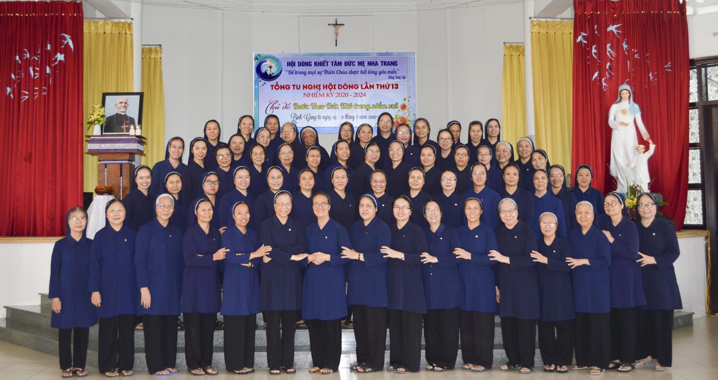 Niềm vui thuộc về Hội Dòng