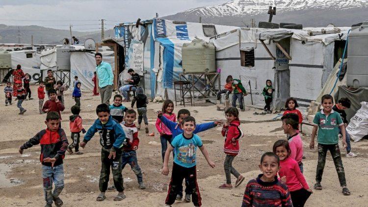 Trẻ em Syria ở trại tị nạn Liban  (ANSA)